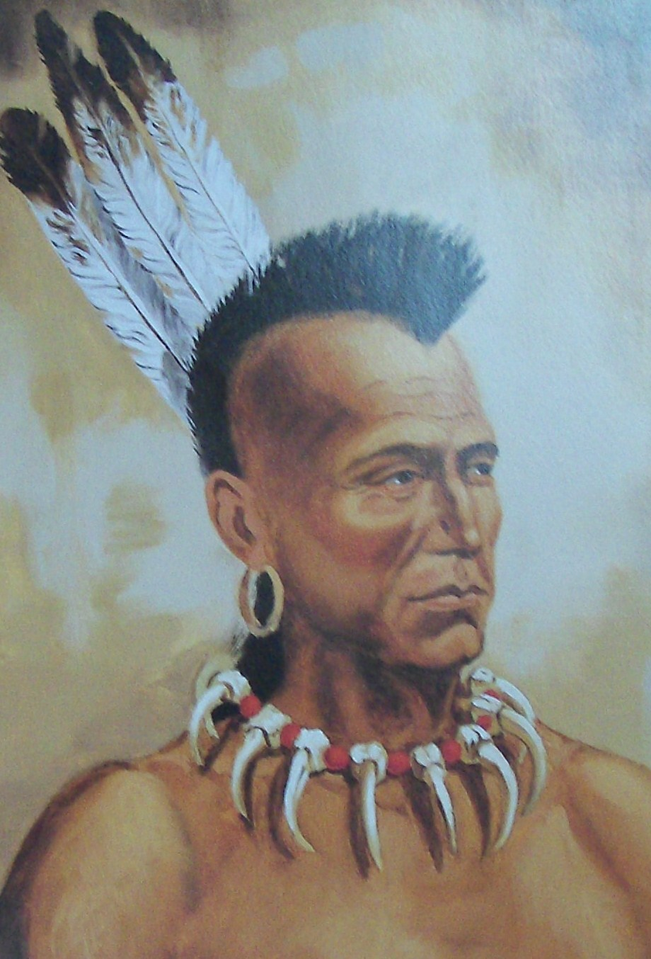 Native American Mohawk Indian Tribe