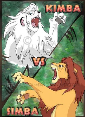 disney vs lion king vs kimba the white lion cezl