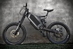 Stealth Electric Bikes has a top speed of up to 50mph,