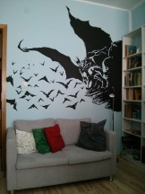 Batman-bedroom-mural
