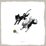 little_friends___catwoman_and_black_cat_by_rawlsy-d621c12