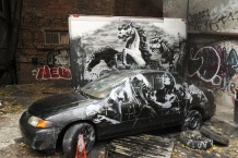 BANKSY ART IN NEW YORK