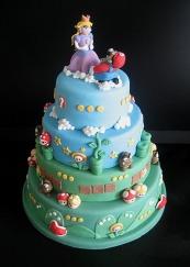 Awesome-Mario-Wedding-Cake